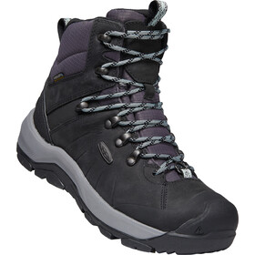 Keen Revel IV Mid Polar Sko Damer, black/harbor gray